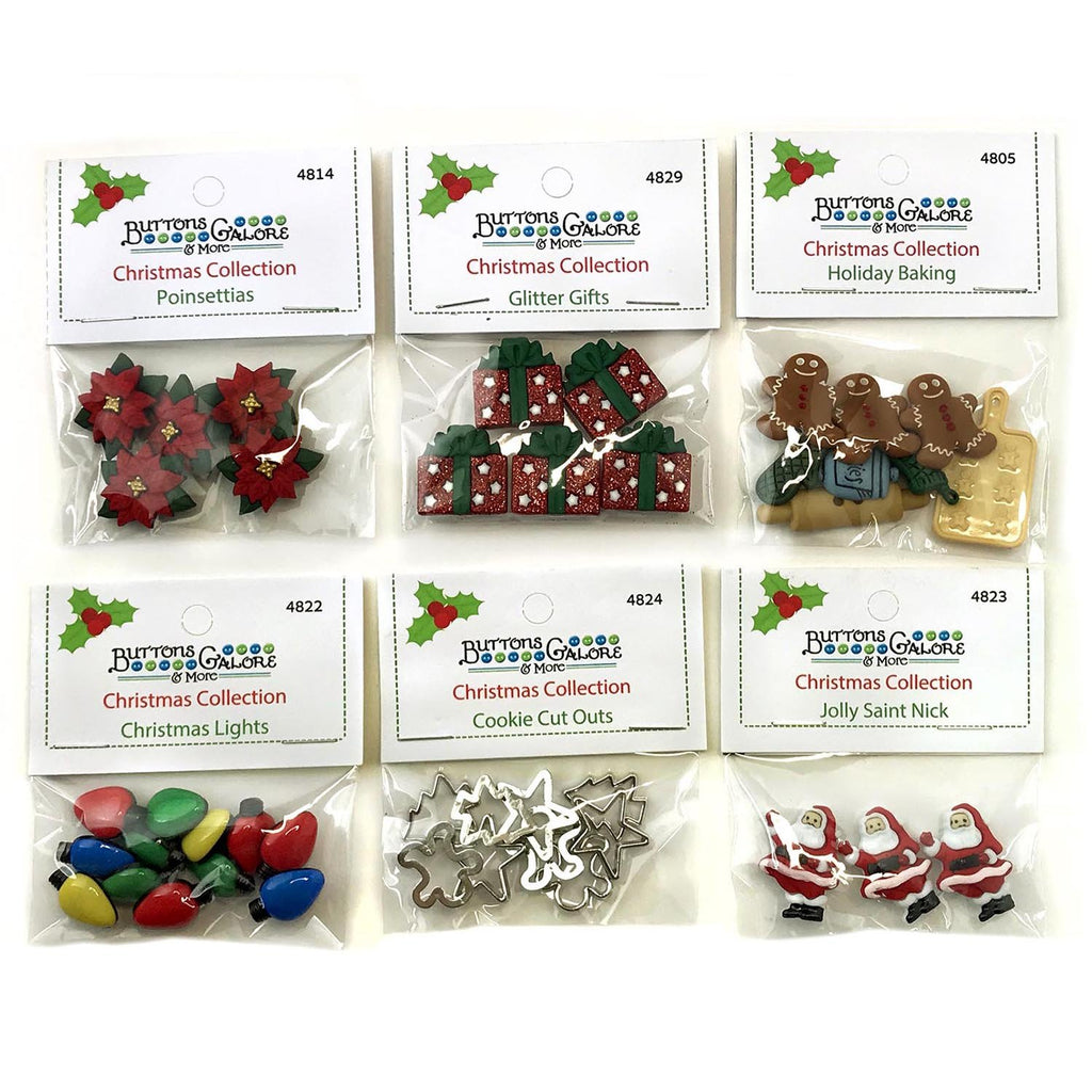 Christmas Bundle 5 - Buttons Galore and More