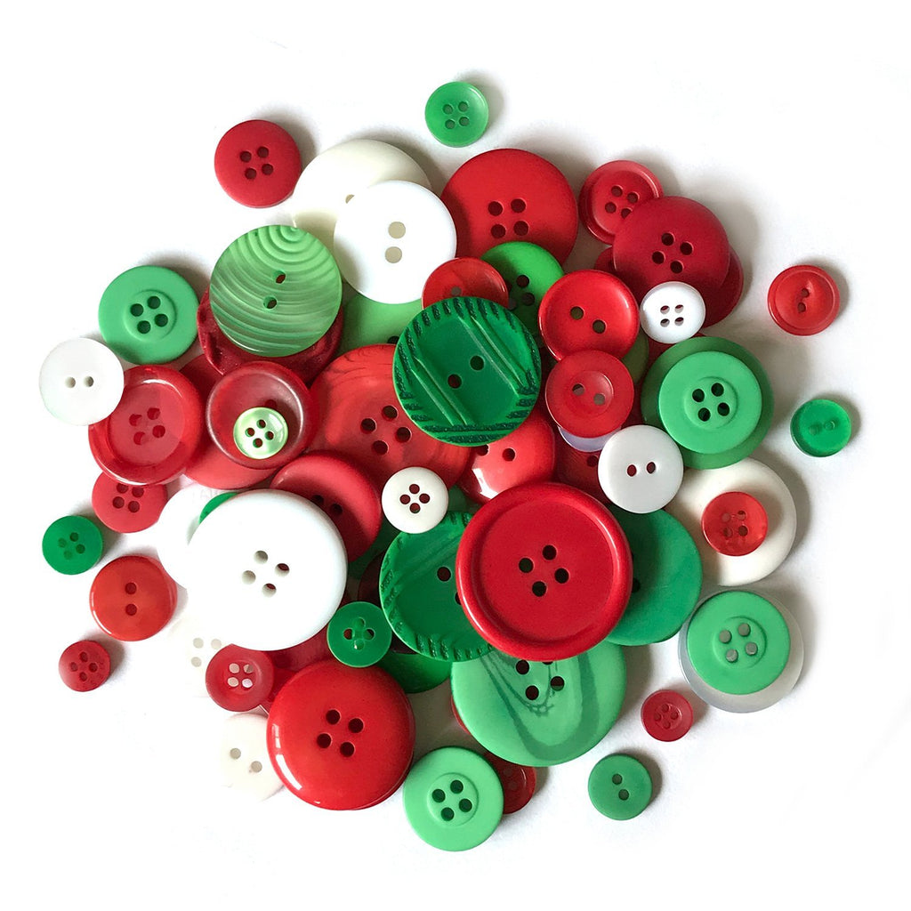Christmas Buttons-CJ103 - Buttons Galore and More
