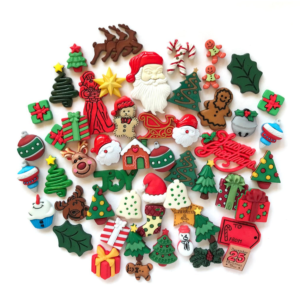 Christmas Super Value Pack - Buttons Galore and More