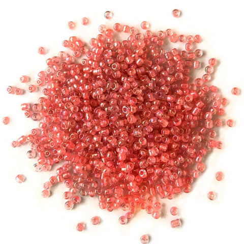 Coral Seed Beads - 11/0