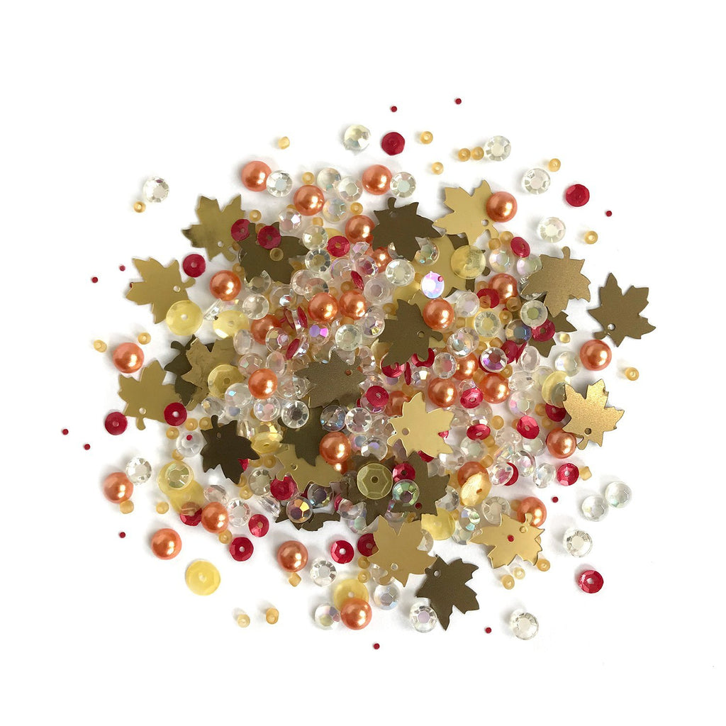 Fall Foliage-SPK156 - Buttons Galore and More