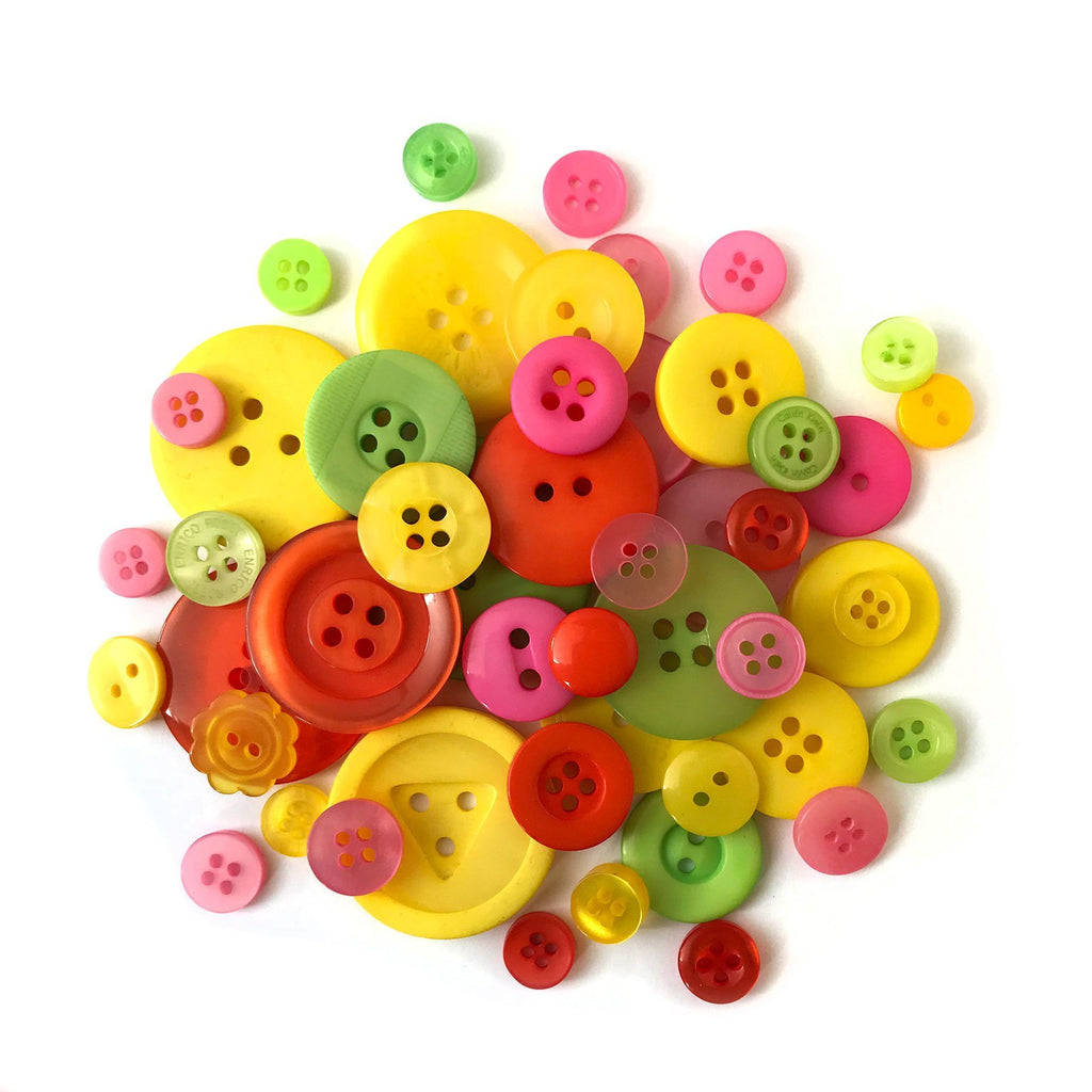 Festive Buttons-CJ104 - Buttons Galore and More