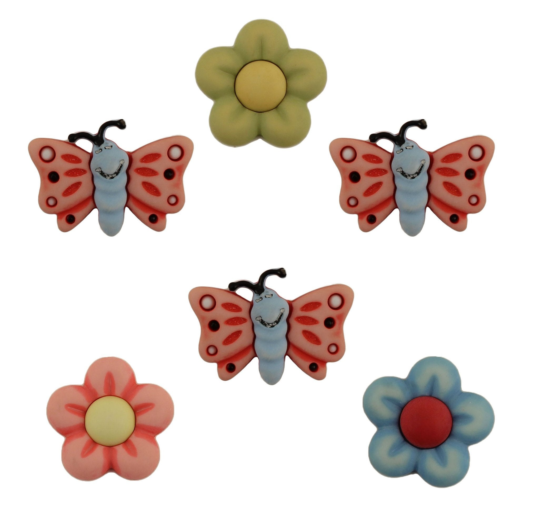 Flutterbugs & Flowers-BZ107