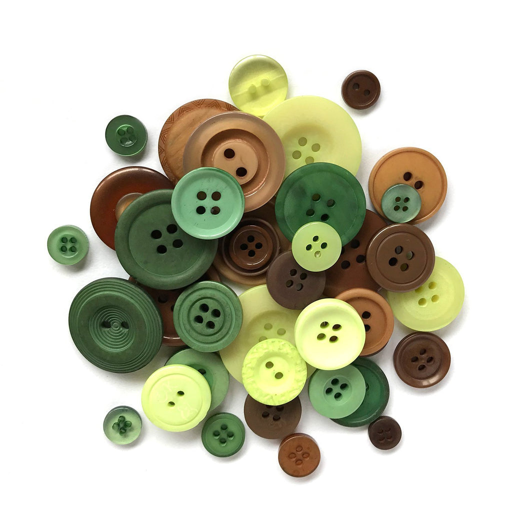 Going Green - HAB119 - Buttons Galore and More