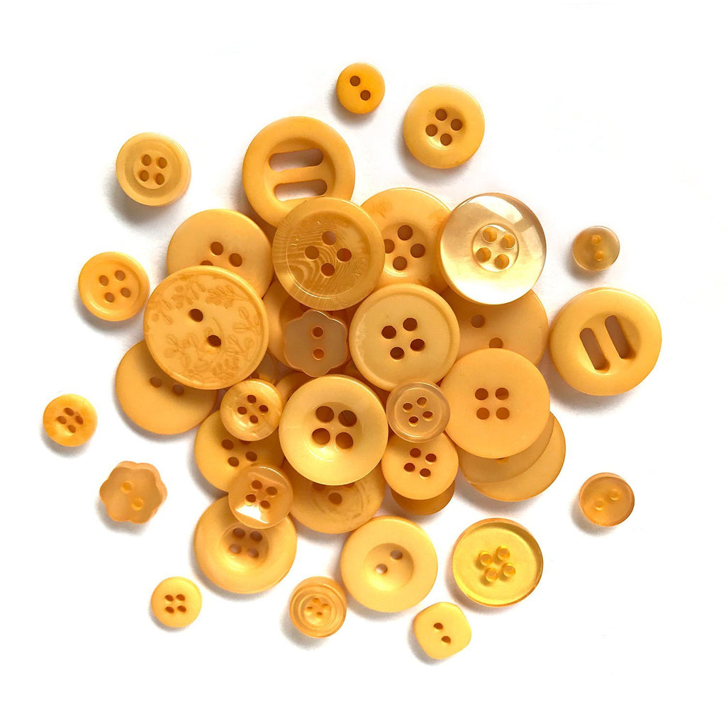 Golden Yellow - BTP7408 - Buttons Galore and More