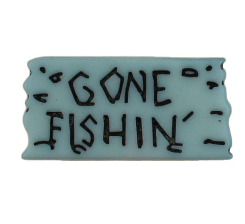 Gone Fishin Sign - B869