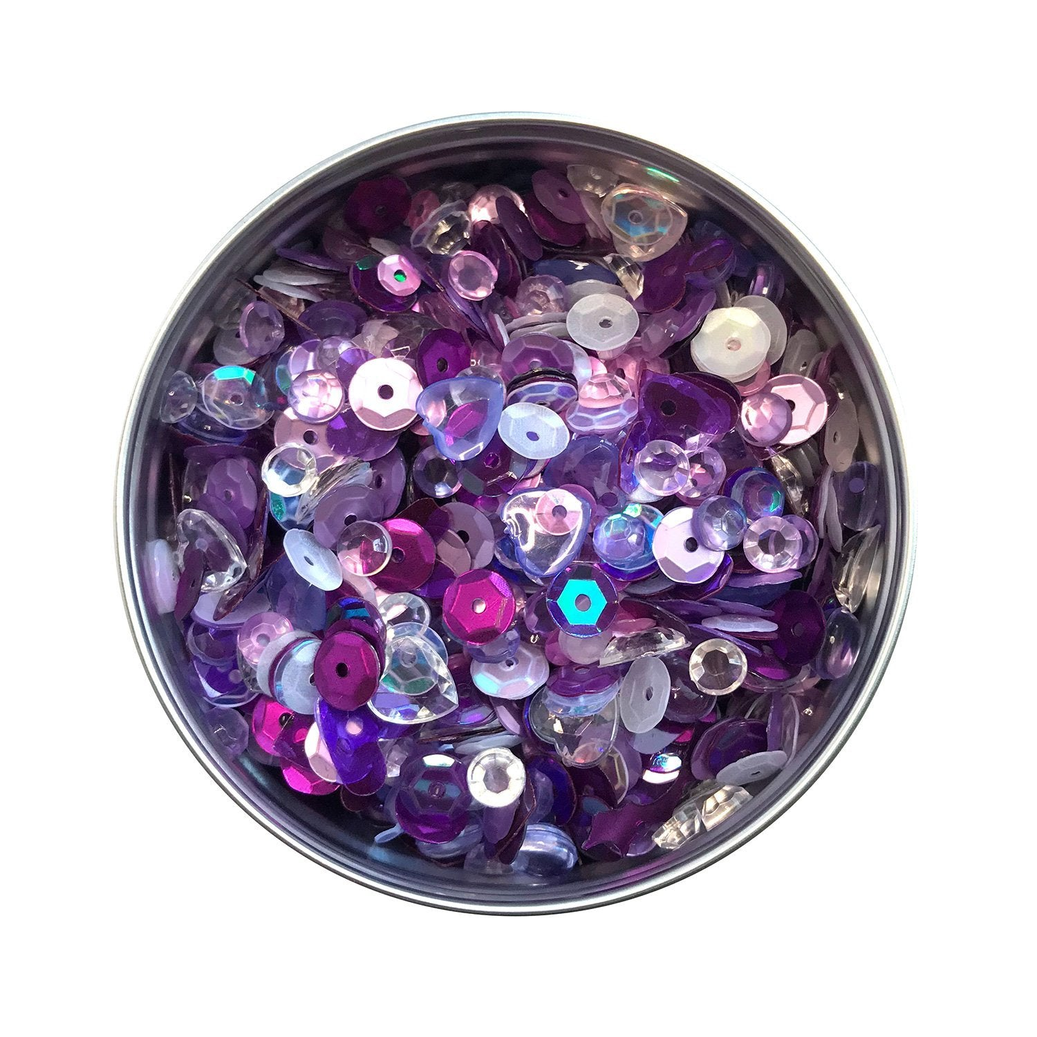 Grape Jelly Sequin Tin