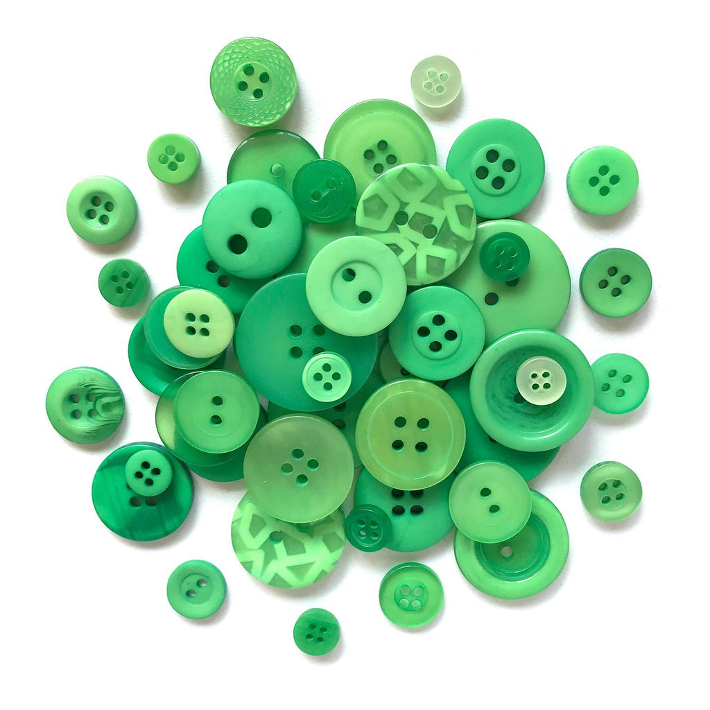 Green - BTP355 - Buttons Galore and More
