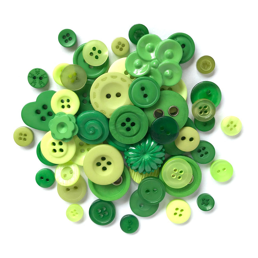 Green - HAB100 - Buttons Galore and More