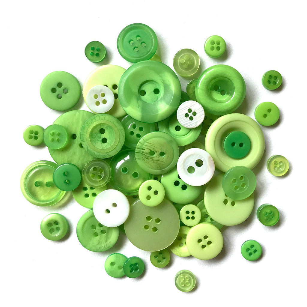 Greenery-MJ105 - Buttons Galore and More