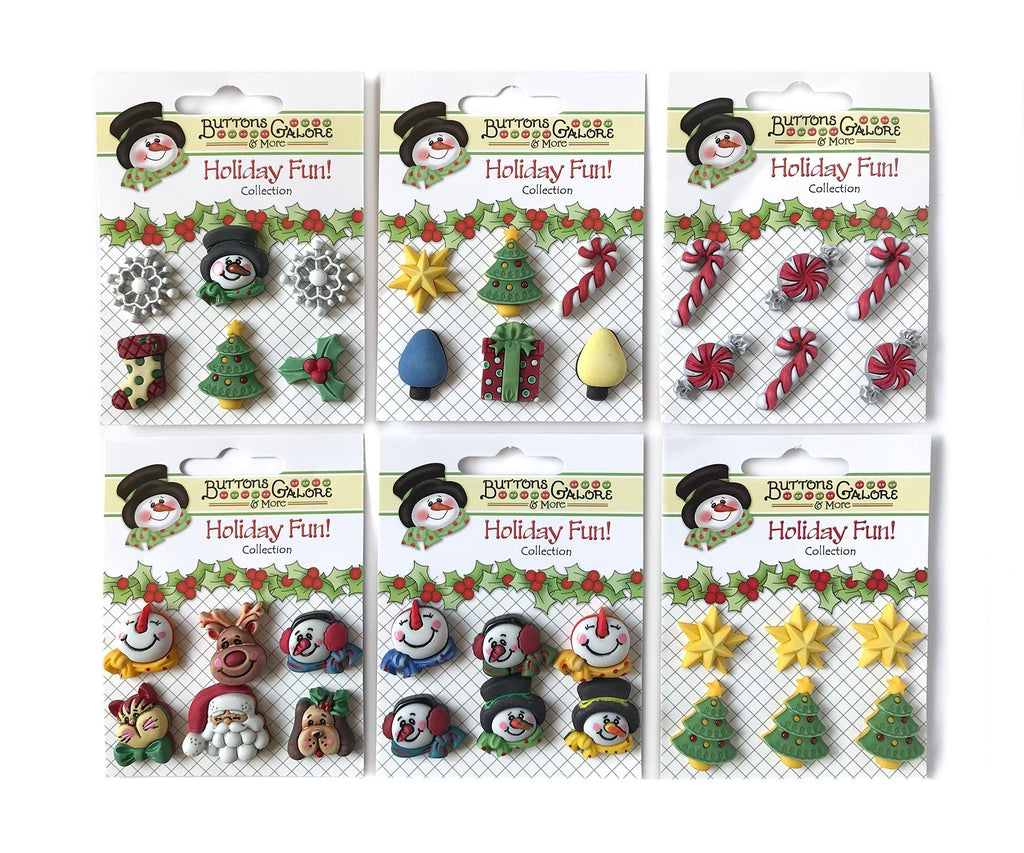 Holiday Fun Group - Buttons Galore and More