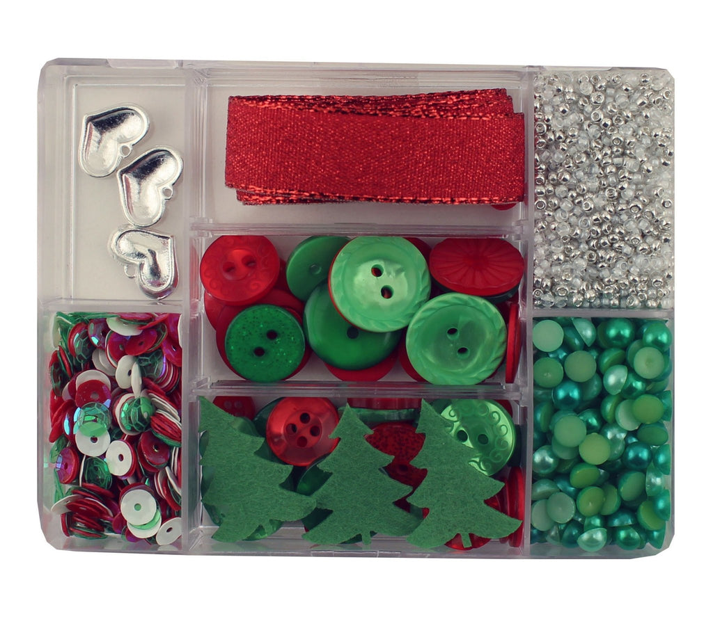 Holly Jolly-LL111 - Buttons Galore and More