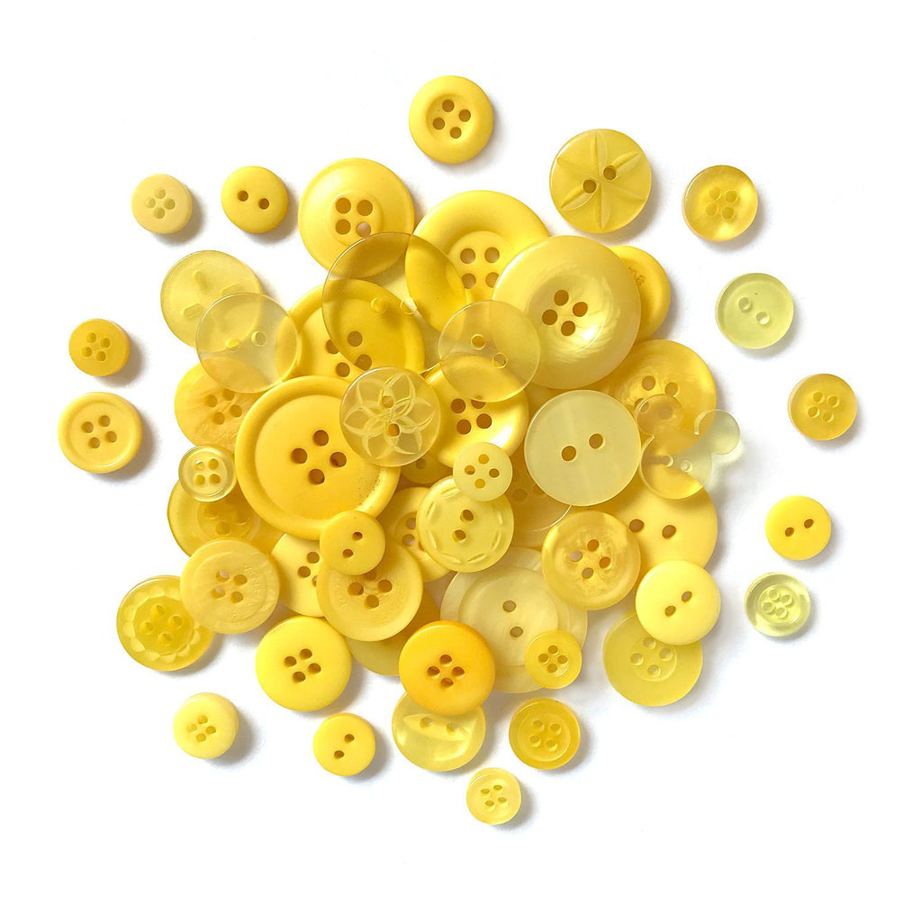 Lemon Yellow - BCB102 - Buttons Galore and More