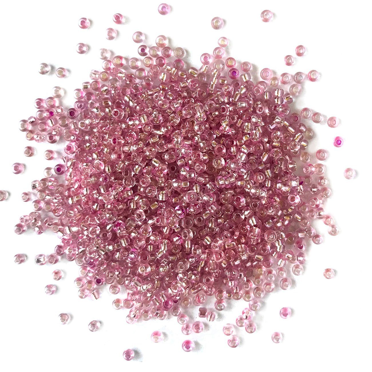 Light Rose Seed Beads - 11/0