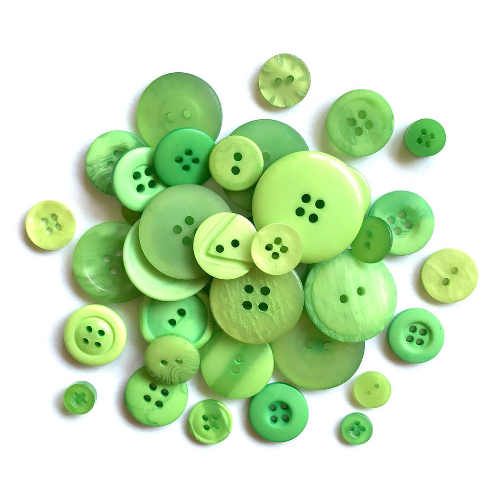 Lime Green - BTP360 - Buttons Galore and More