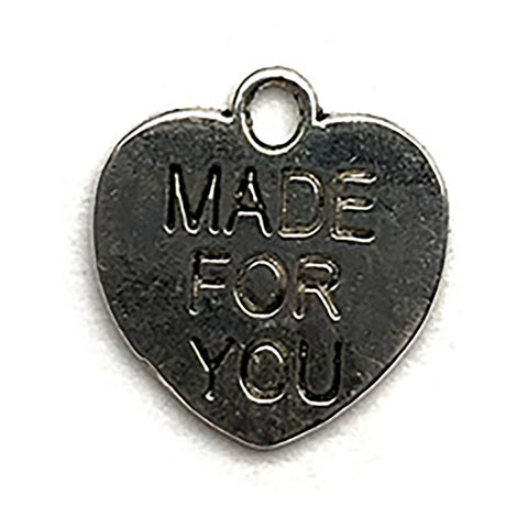 Made For You Heart Charm