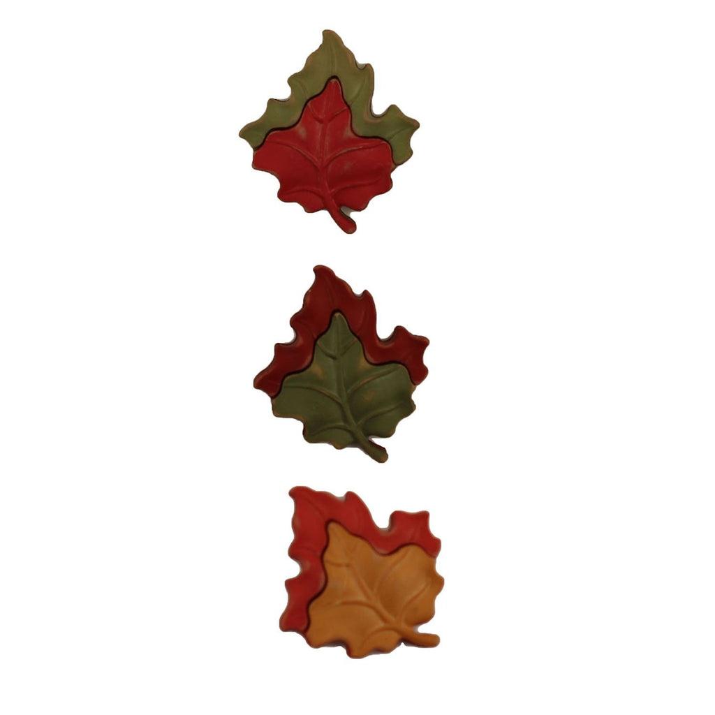 Maple Leaves-FA123 - Buttons Galore and More