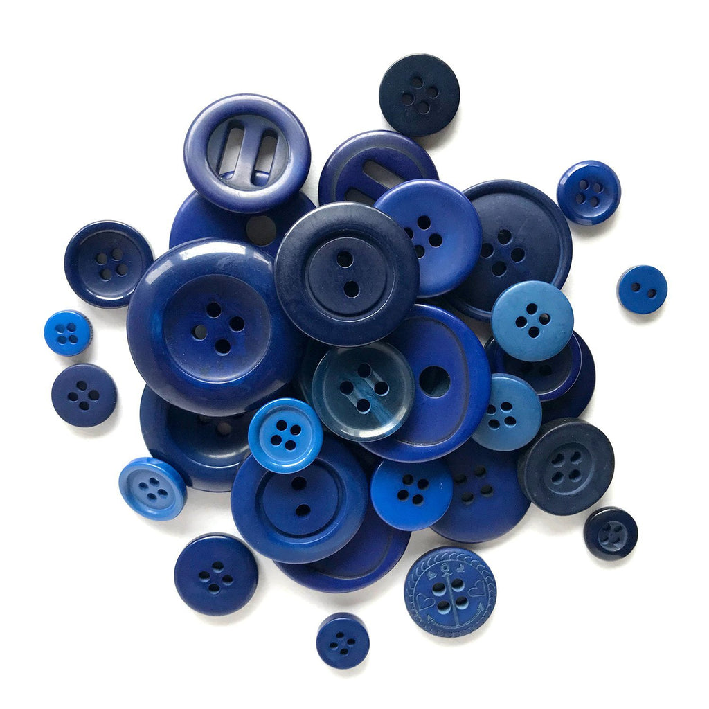 Navy Blue - BB23 - Buttons Galore and More