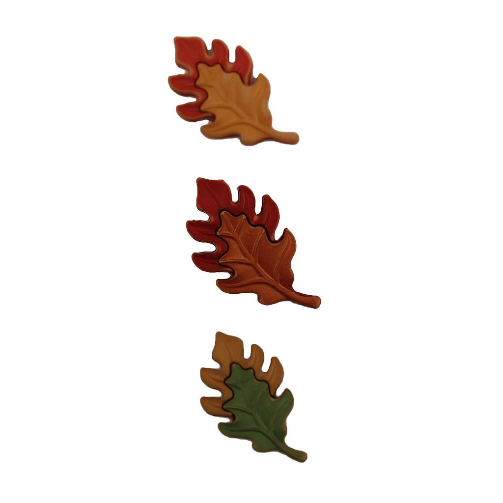 Oak Leaves-FA120 - Buttons Galore and More