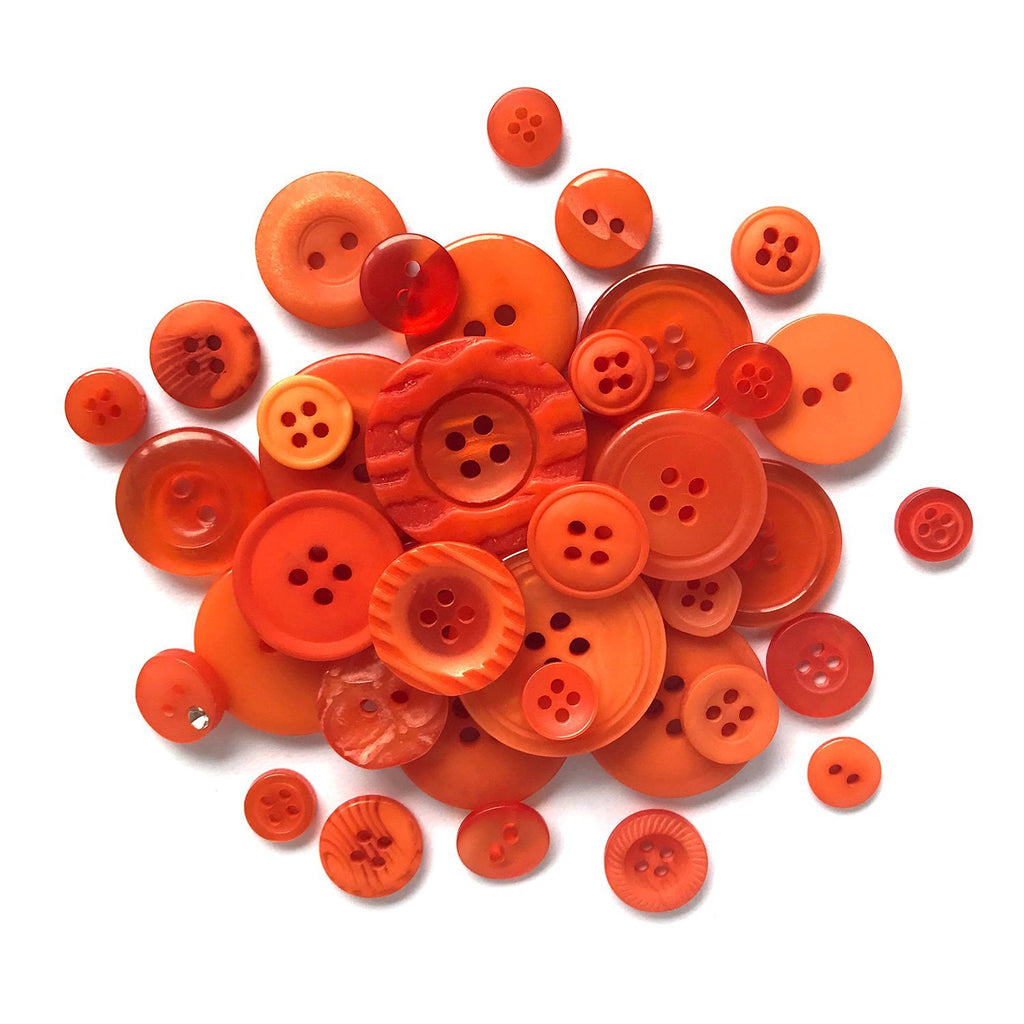 Orange - BTP021 - Buttons Galore and More