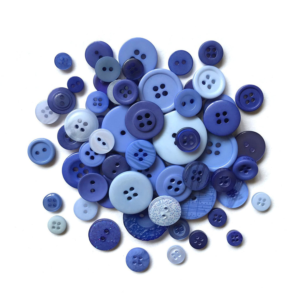 Periwinkle Garden-MJ114 - Buttons Galore and More