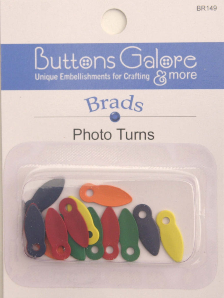 Photo Turns - BR149 - Buttons Galore and More