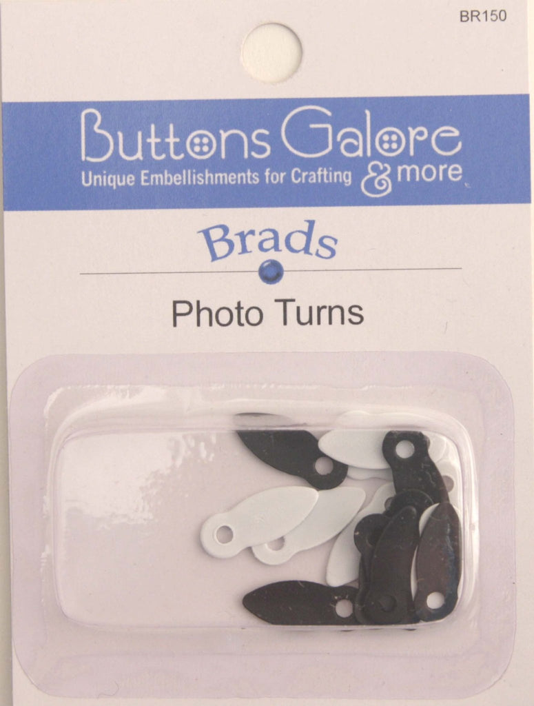 Photo Turns - BR150 - Buttons Galore and More