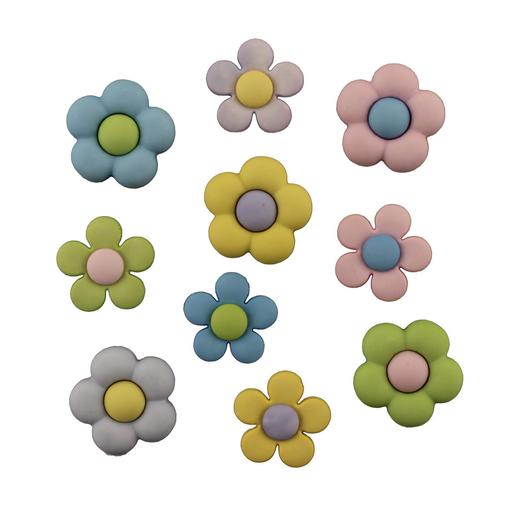 Pretty Petals-4222 - Buttons Galore and More
