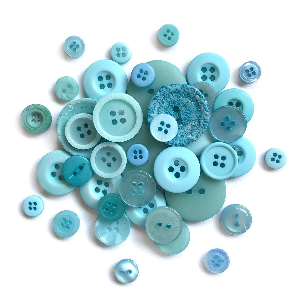 Robins Egg Blue - BCB104 - Buttons Galore and More