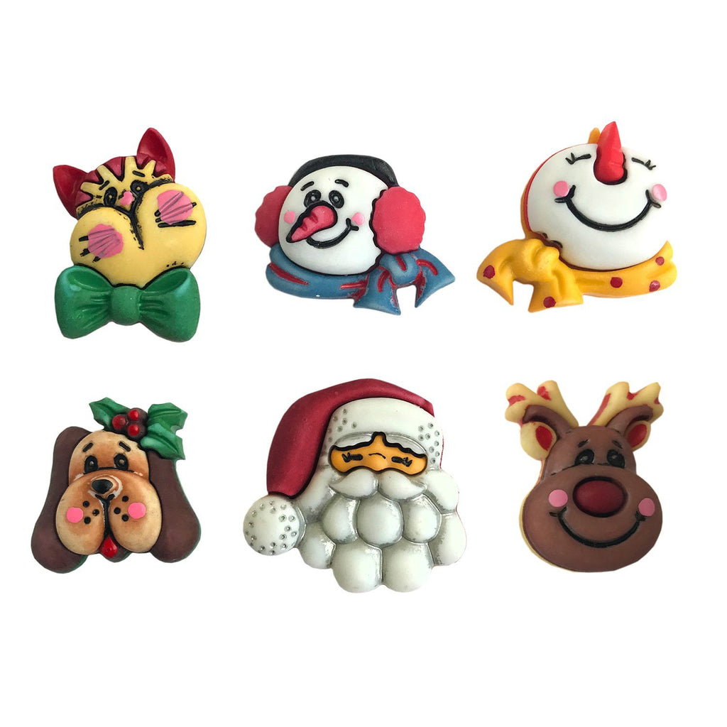 Santa & Friends-CM101 - Buttons Galore and More