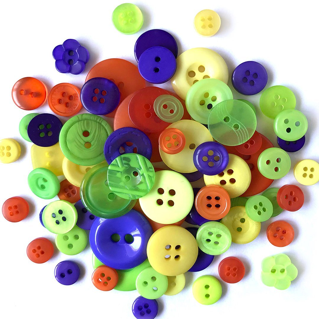 Garden Bugs Buttons Galore Crafts /& Sewing Buttons