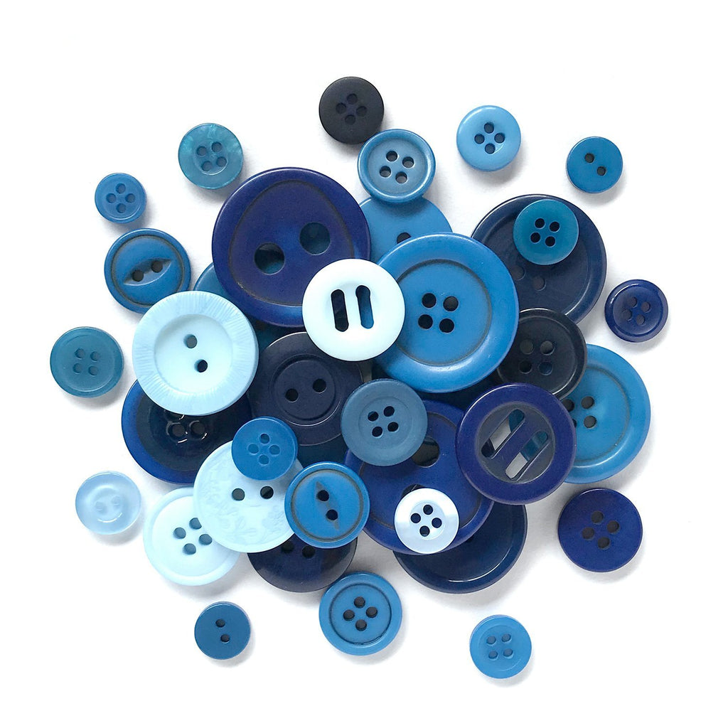 Shades of Blues - HAB102 - Buttons Galore and More