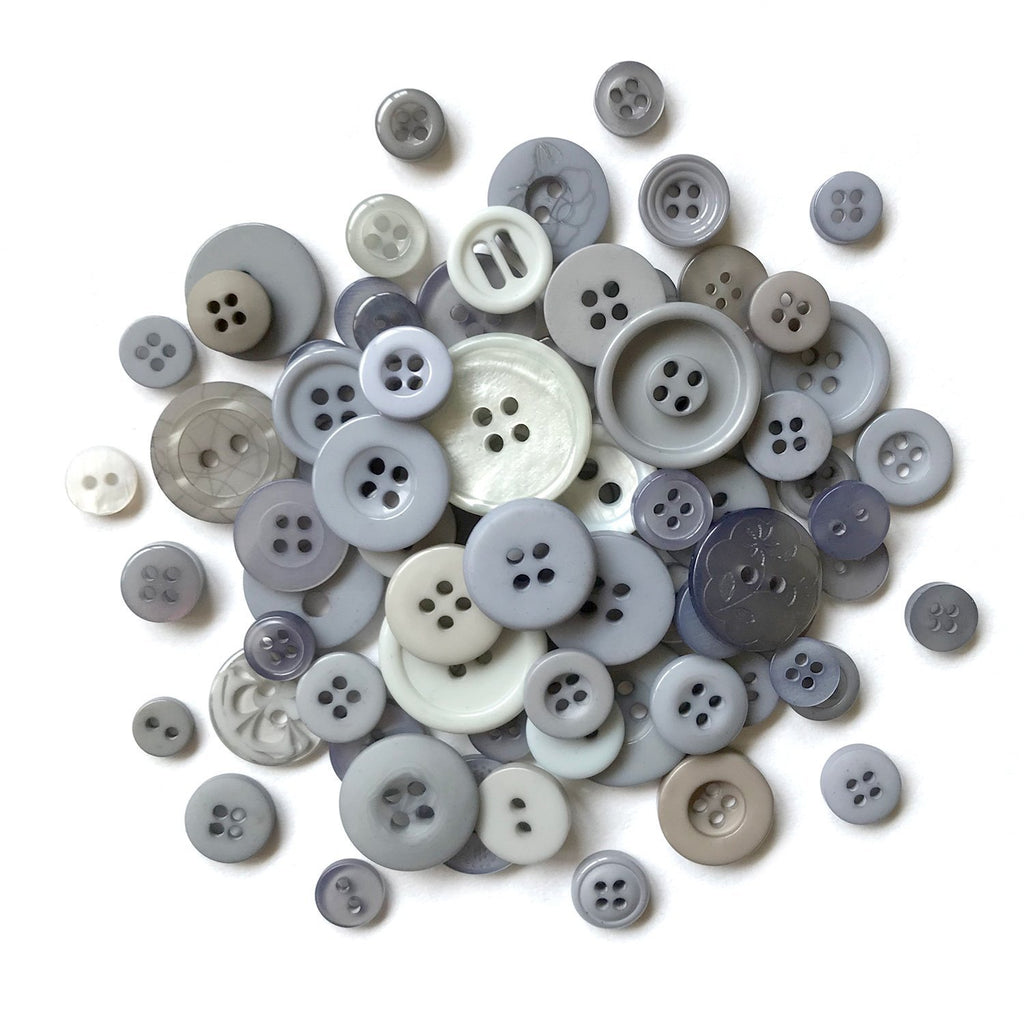 Smokey Greys-MJ111 - Buttons Galore and More