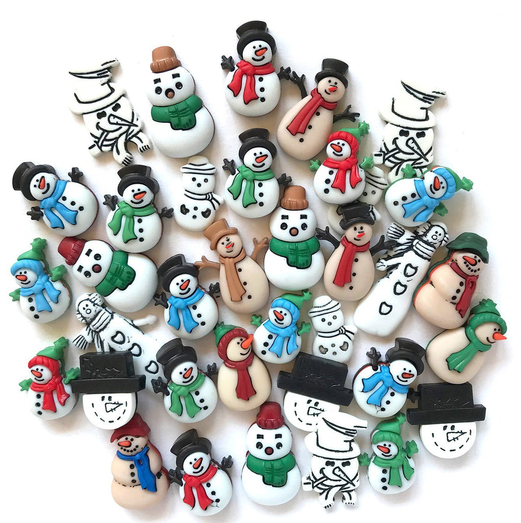 Snowman Super Value Pack - Buttons Galore and More