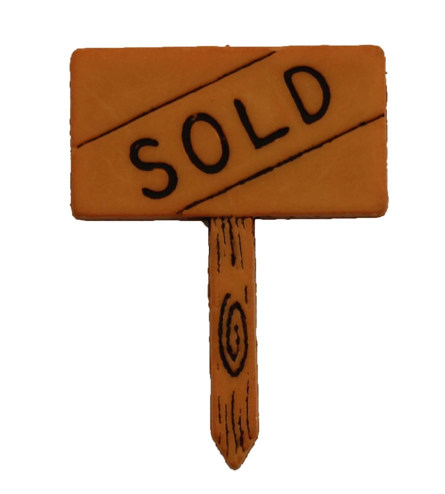 Sold Sign - B475
