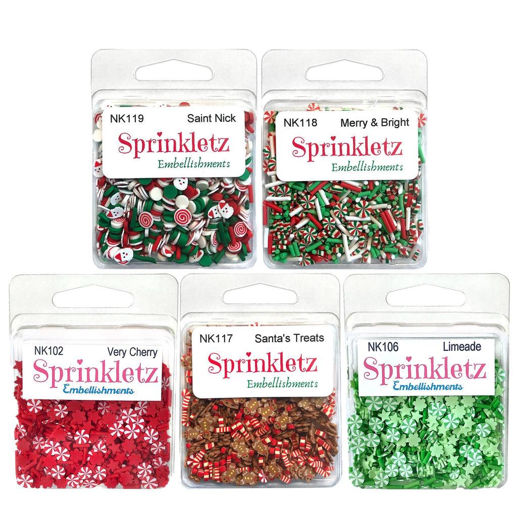 Sprinkletz Christmas Bundle - Buttons Galore and More