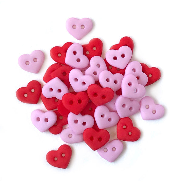 Valentine Hearts-1827 - Buttons Galore and More