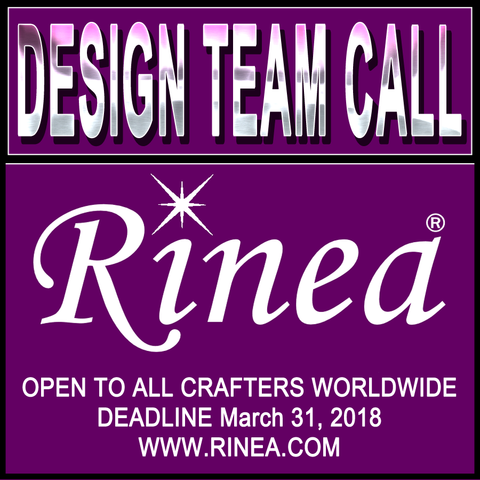 Rinea 2018 Design Team Call