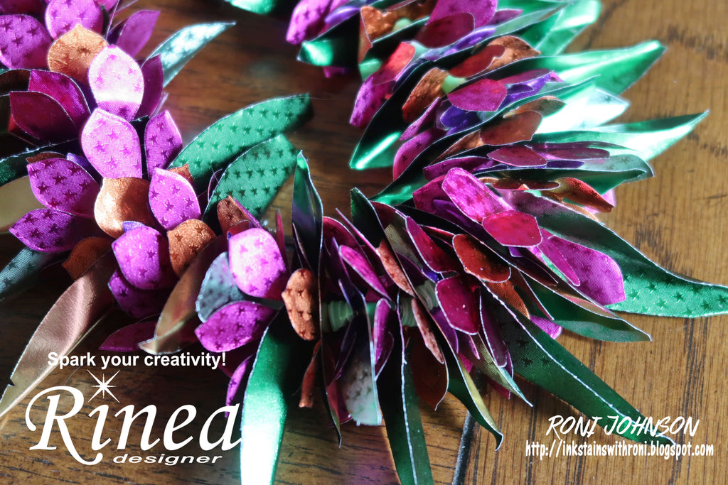 Rinea Inspires - Floral Flower Lei with Roni Johnson
