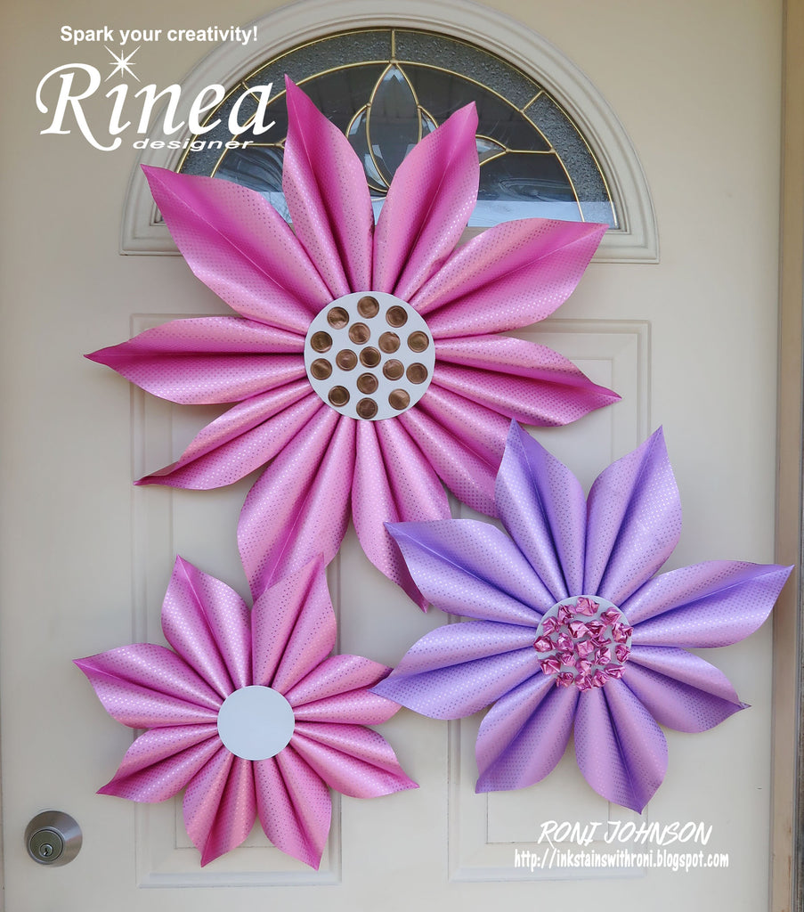 Rinea Jumbo Spring Flowers with Roni Johnson