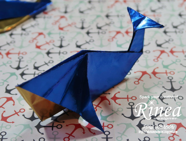 Animal Papercraft - Blue Whale | 454x600