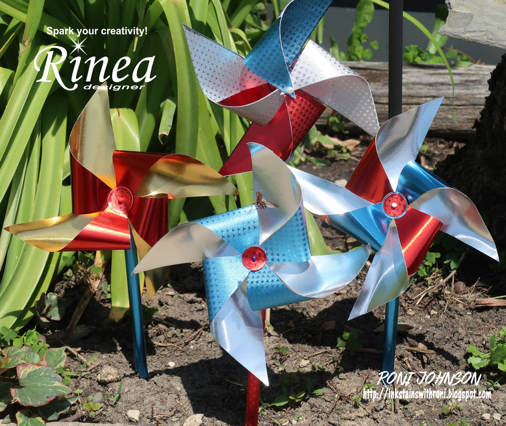 Rinea Patriotic Pinwheel with Roni Johnson