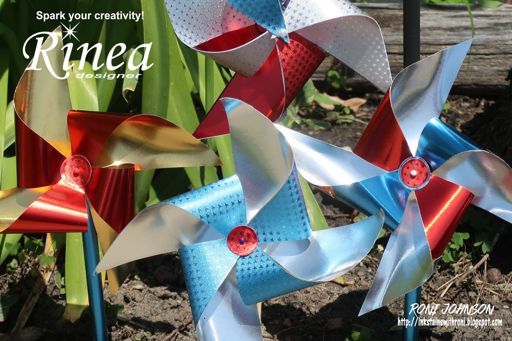 Rinea Patriotic Pinwheels with Roni Johnson