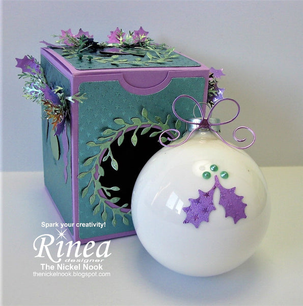 Christmas Ornament and Box