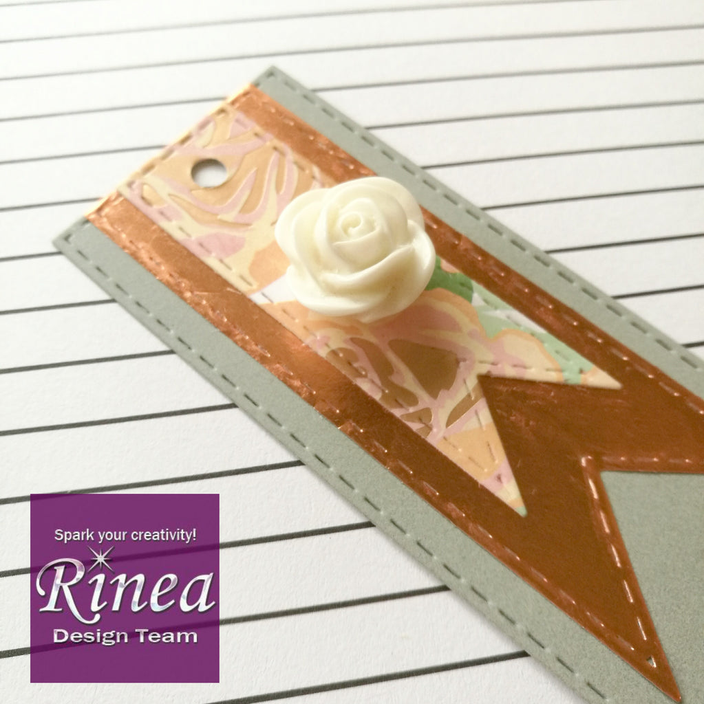 Rinea Foiled Paper Gift Tags
