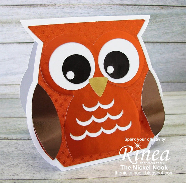 Autumn Owl lCard