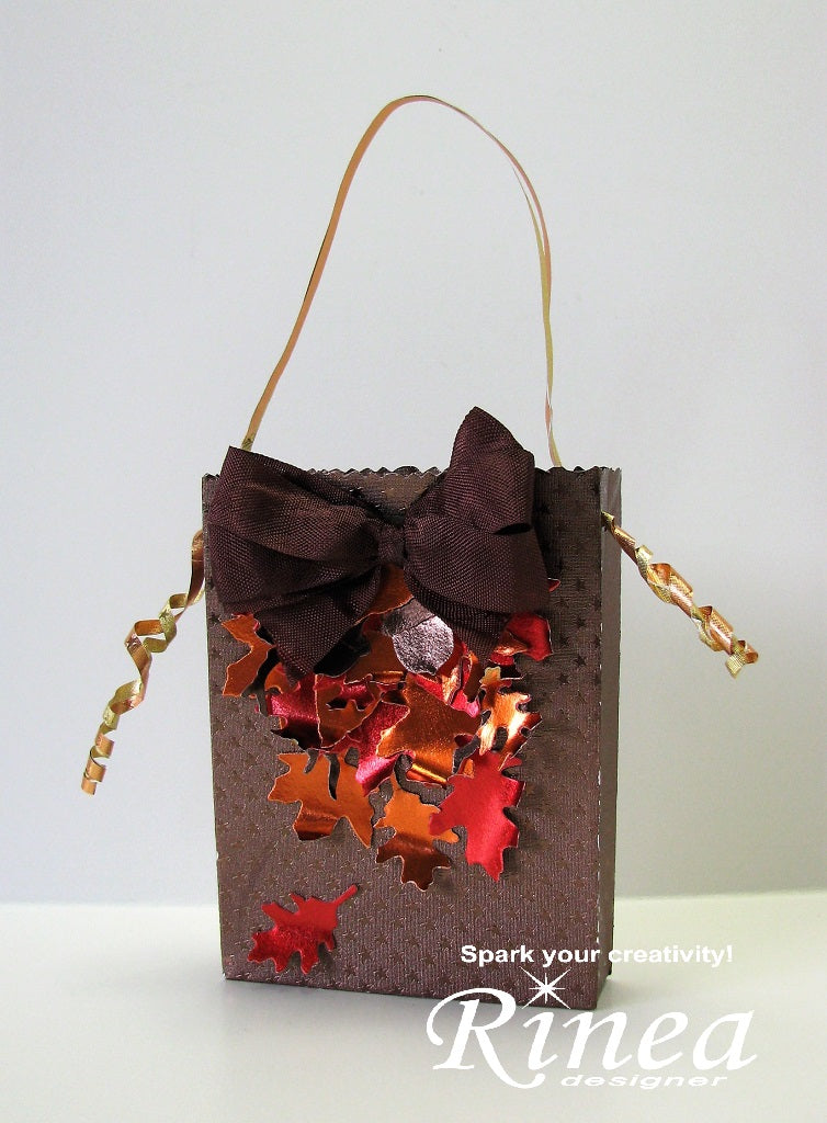 Gift Bag using Rinea Foiled Paper