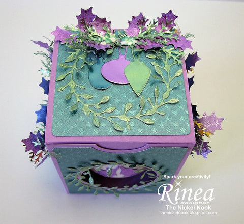 Christmas Ornament and Ornament Box