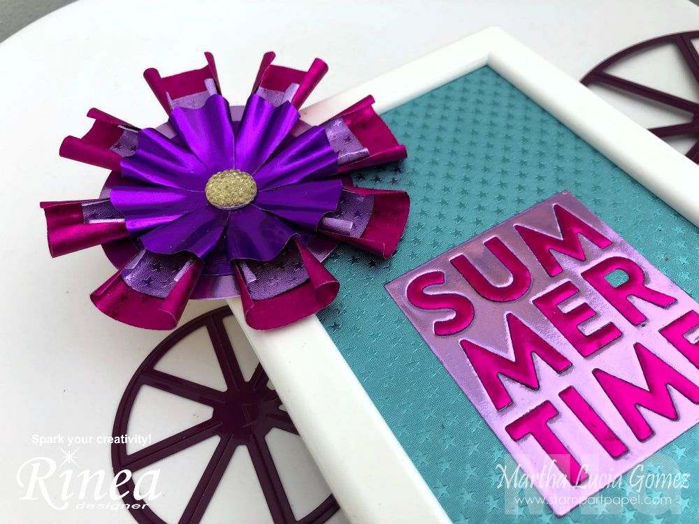 Decoration with Rinea Die Cuts