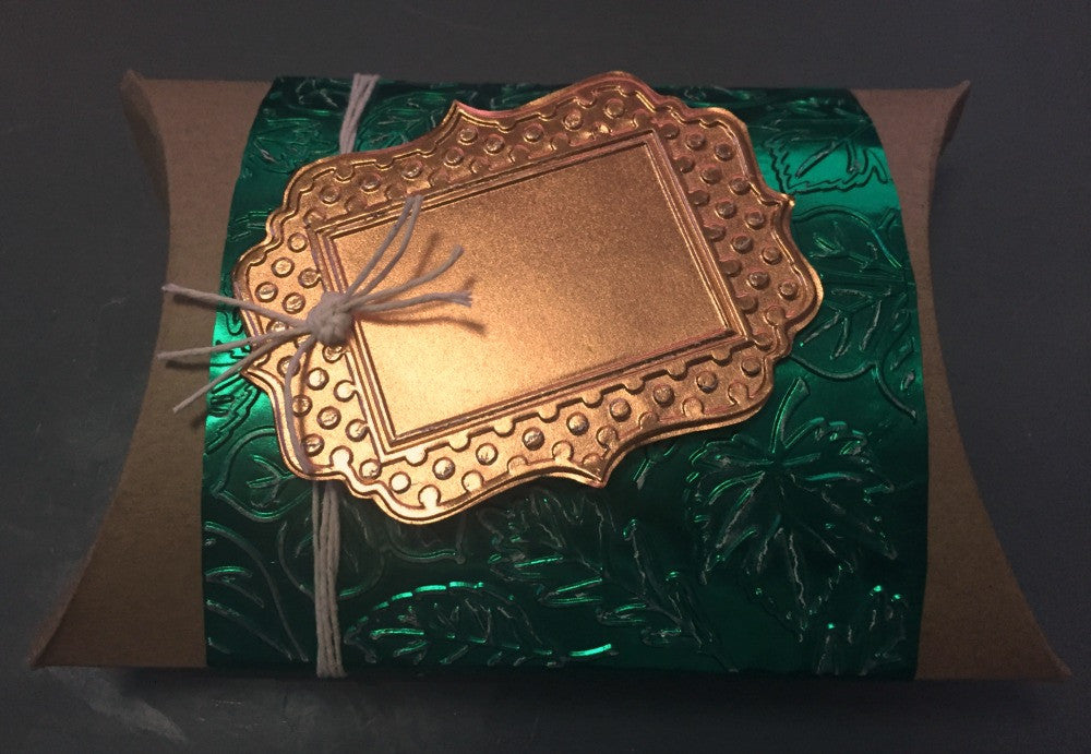 Special Gift Bag with paper foil